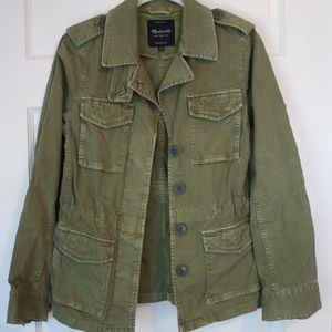 Madewell Outbound Army Green Jacket